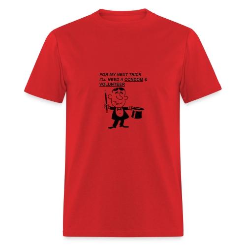 Magician Condom Shirt - Men's T-Shirt