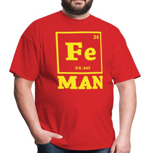 Iron Chemistry Man Science - Men's T-Shirt