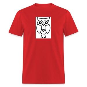 best smart owl - Men's T-Shirt