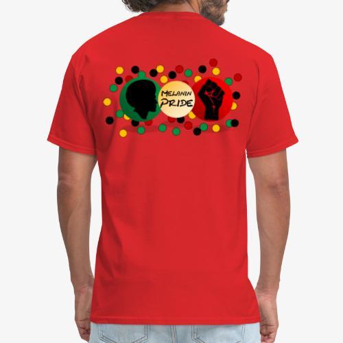 Melanin Pride Logo with dots - Men's T-Shirt