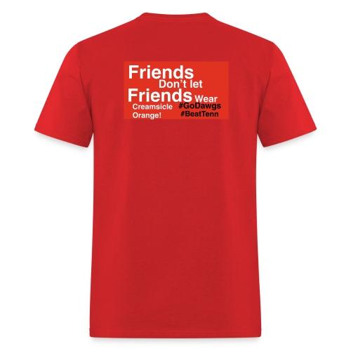#GoDawgs #BeatTenn - Men's T-Shirt