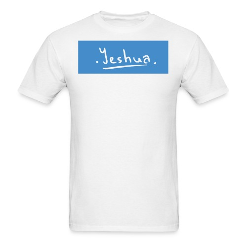 yeshuablue gif - Men's T-Shirt