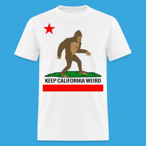 Keep California Weird - Men's T-Shirt