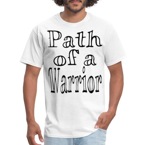 Path of a Warrior (White) - Men's T-Shirt