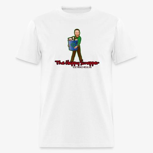The Happy Scrapper Logo l - Men's T-Shirt