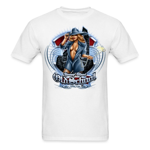 Old School by RollinLow - Men's T-Shirt