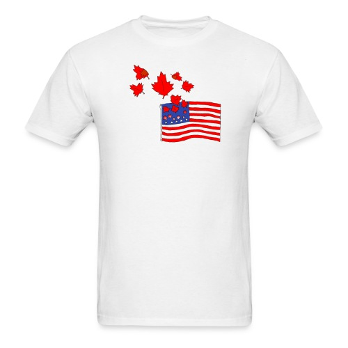 Camerican Flag - Men's T-Shirt