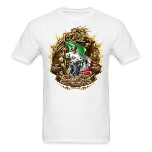 Cholo Collage by RollinLow - Men's T-Shirt