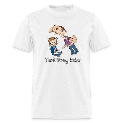 Third String Kicker Poster - Men's T-Shirt