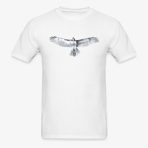 Red-Tailed Hawk - Men's T-Shirt