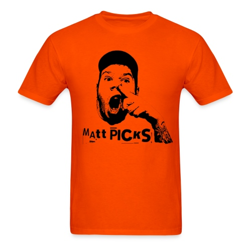 Matt Picks Shirt - Men's T-Shirt