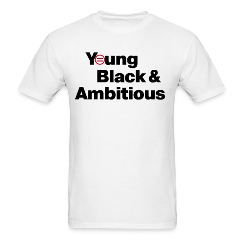 YBA white and gray shirt - Men's T-Shirt