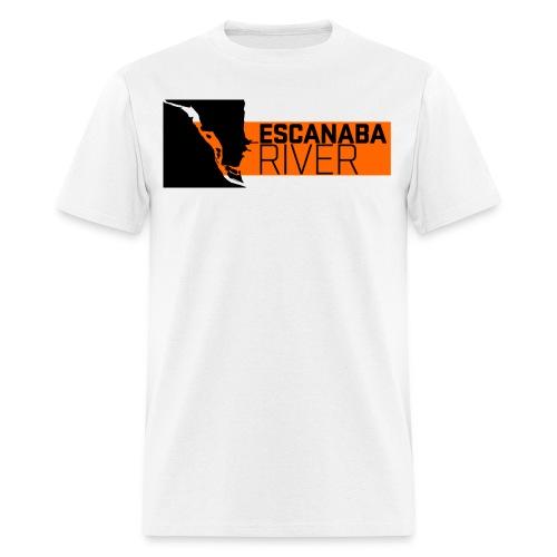 Escanaba River - Men's T-Shirt