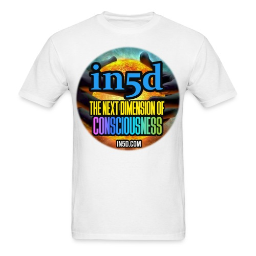 In5D Main Logo - Men's T-Shirt