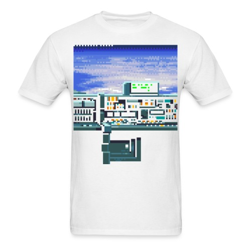 Spaceship - Men's T-Shirt