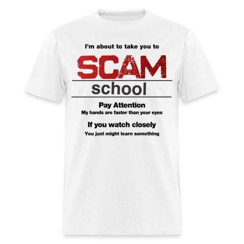 takeyoutoschool black - Men's T-Shirt