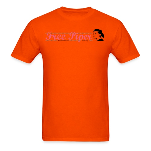 Free Piper Orange is the New Black - Men's T-Shirt