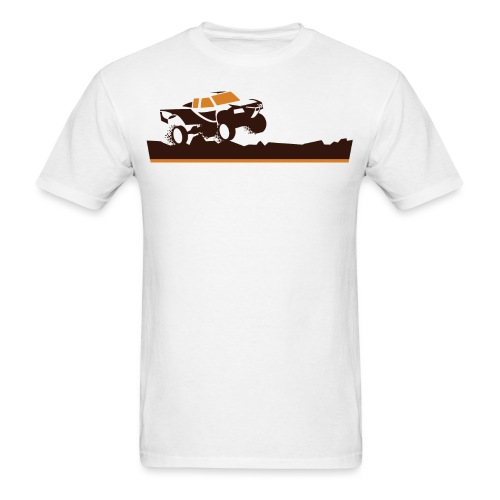 Race Truck Mud Run - Men's T-Shirt