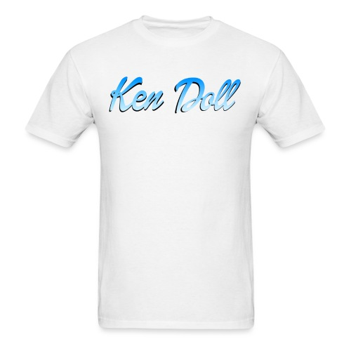 ken doll blue - Men's T-Shirt