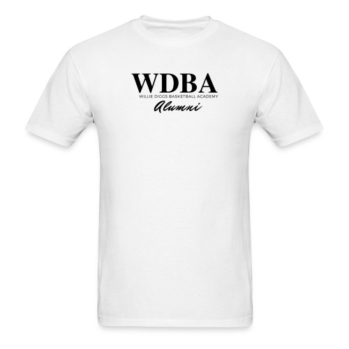wdba alumni png - Men's T-Shirt