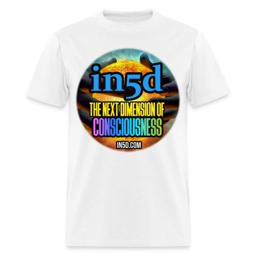 In5D Main Logo - Men's T-Shirt