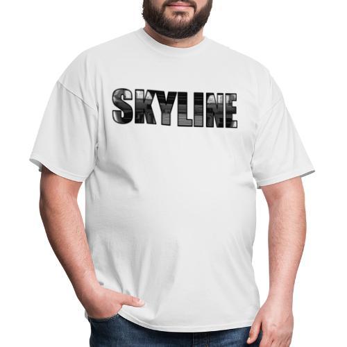 SKYLINE Front - Men's T-Shirt