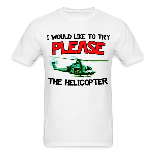 Please the Helicopter Women's T-Shirts - Men's T-Shirt