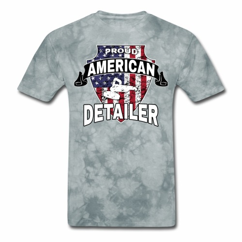 AMERICAN AUTO DETAILER SHIRT | CAR DETAILING - Men's T-Shirt