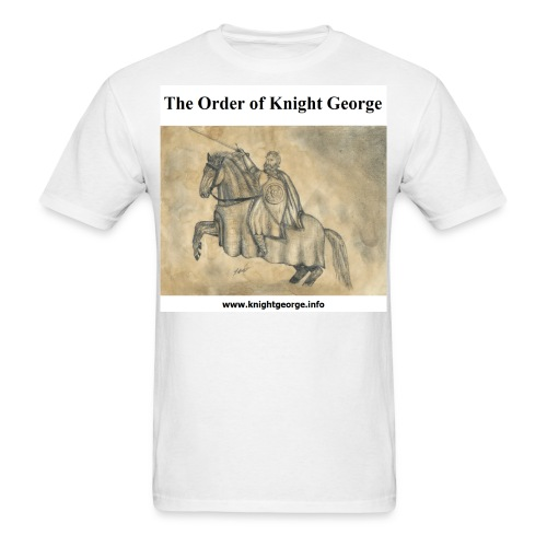 The Order of Knight George Art - Men's T-Shirt