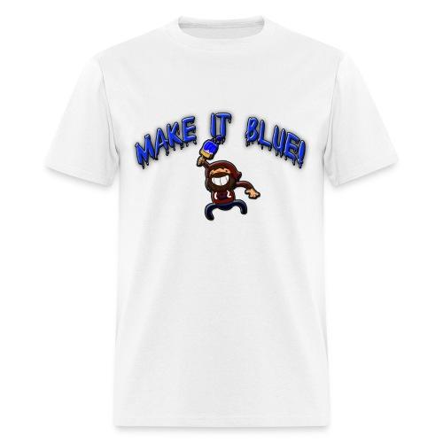 modii101 make it blue - Men's T-Shirt