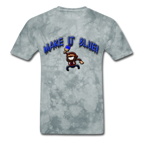 modii101 make it blue - Men's T-Shirt
