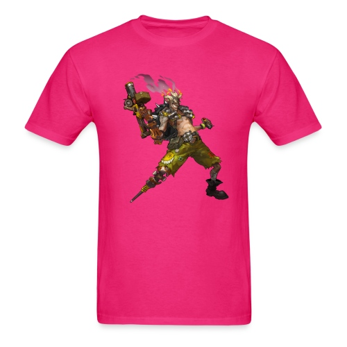 junkrat overwatch drawn by arnold tsang 2baffe0 - Men's T-Shirt