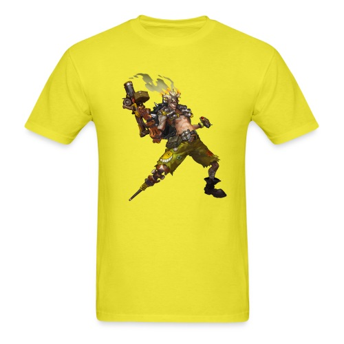 junkrat overwatch drawn by arnold tsang 2baffe0 - Men's T-Shirt