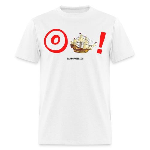 o ship color - Men's T-Shirt