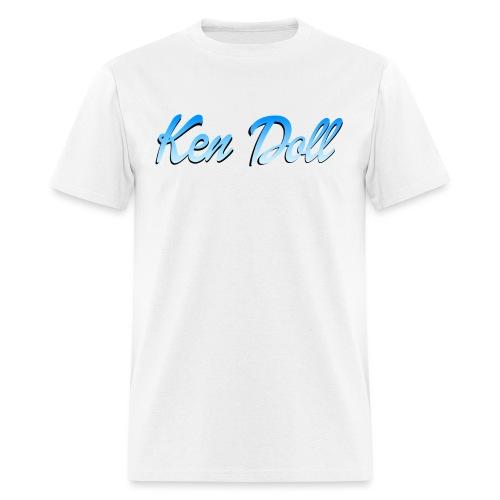 ken doll blue - Men's T-Shirt
