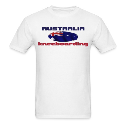 knee aust copy png - Men's T-Shirt