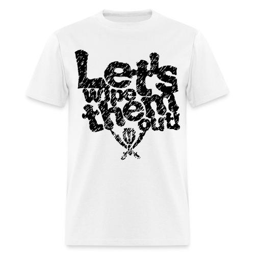 letswipethemout - Men's T-Shirt