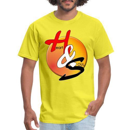 Rcahas logo gold - Men's T-Shirt