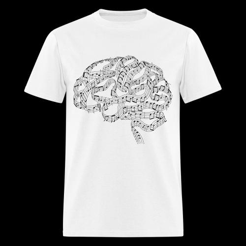 Sound of Mind | Audiophile's Brain - Men's T-Shirt