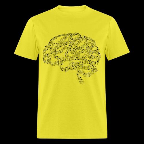Sound of Mind   Audiophile's Brain - Men's T-Shirt