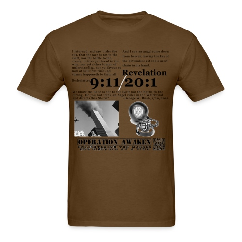 angel in the whirlwind greynobg png - Men's T-Shirt
