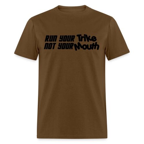 runyourtrike png - Men's T-Shirt