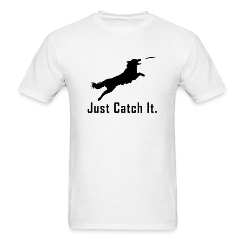 Just Catch It (Black) - Men's T-Shirt