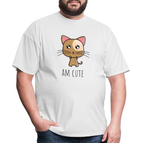 Am Cute Furry Animal - Men's T-Shirt