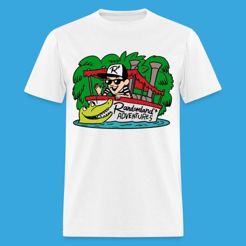 Justin of the Jungle Boat - Men's T-Shirt