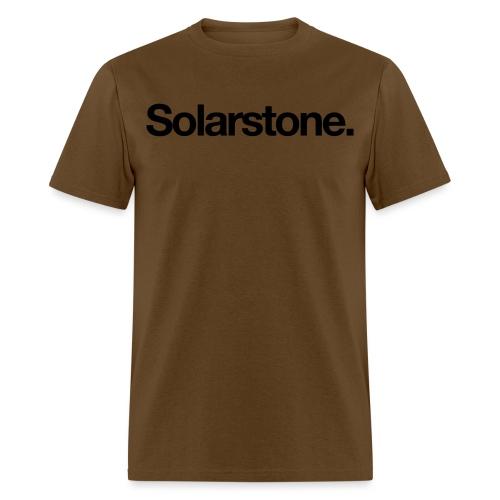 Solarstone Logo Black - Men's T-Shirt