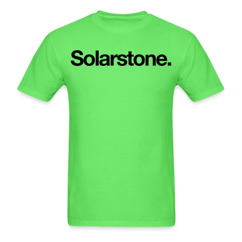 Solarstone Logo Black - Men's T-Shirt