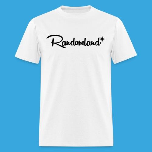 Randomland Black Logo - Men's T-Shirt