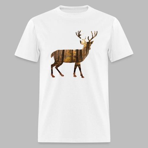 deer silhoutte - Men's T-Shirt