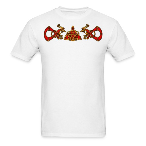Wiccan Triqueta - Men's T-Shirt